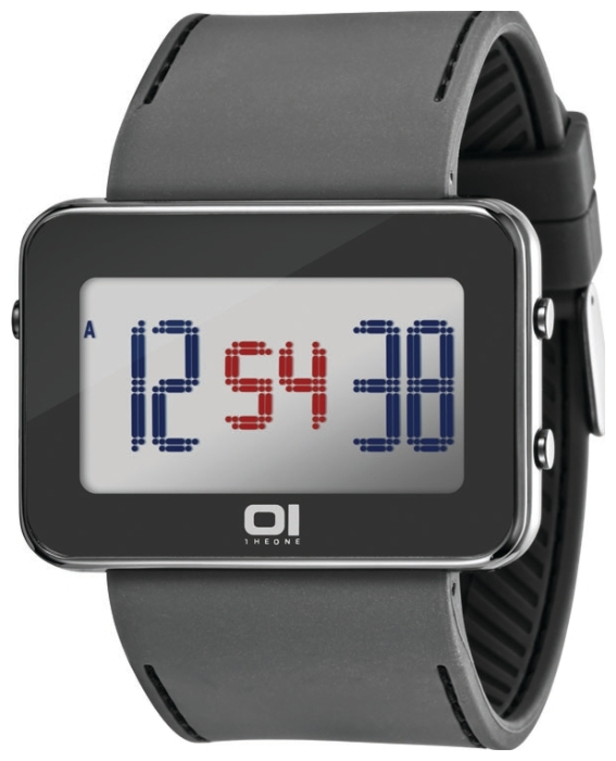 Wrist unisex watch 01THE ONE IPLD1118-3GY - picture, photo, image