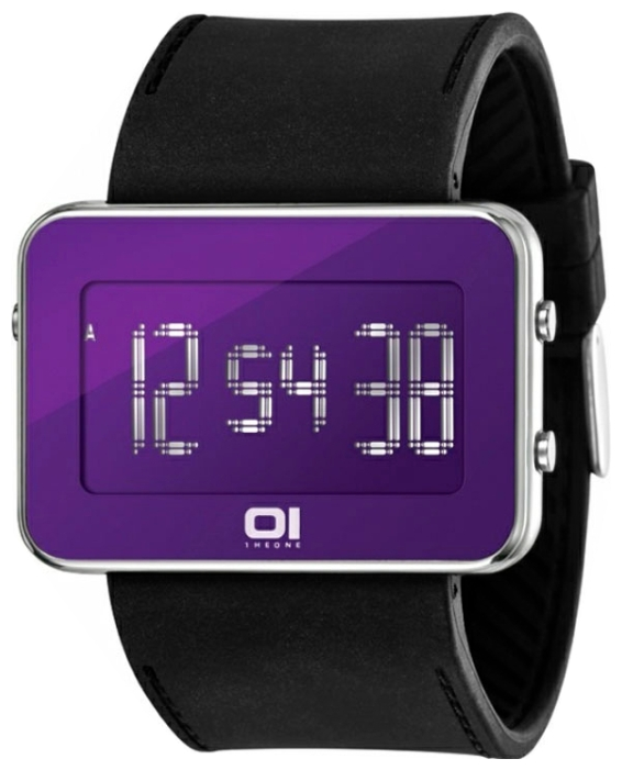 Wrist unisex watch 01THE ONE IPLD117-3BK - picture, photo, image