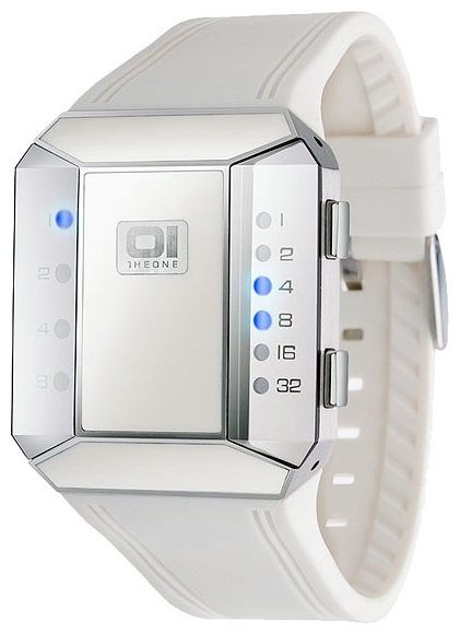 Wrist unisex watch 01THE ONE SC119B3WH - picture, photo, image