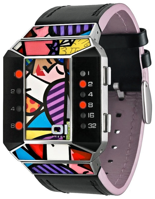 Wrist unisex watch 01THE ONE SC123R1 - picture, photo, image