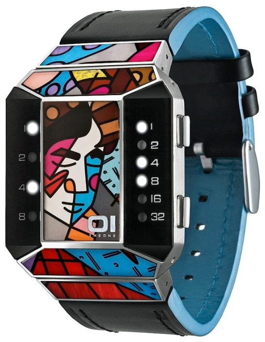 Wrist unisex watch 01THE ONE SC124W1 - picture, photo, image