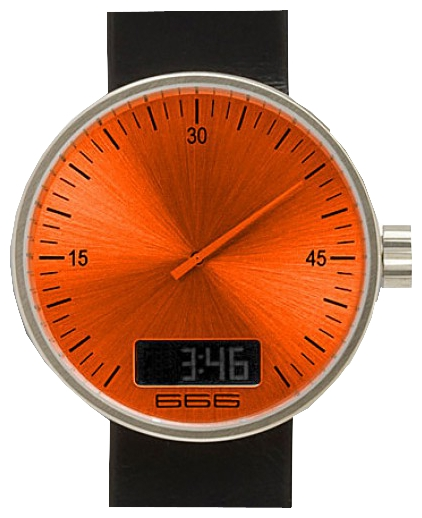 Wrist unisex watch 666 Barcelona 666-002 - picture, photo, image