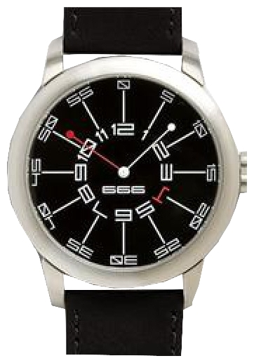 Wrist unisex watch 666 Barcelona 666-082 - picture, photo, image