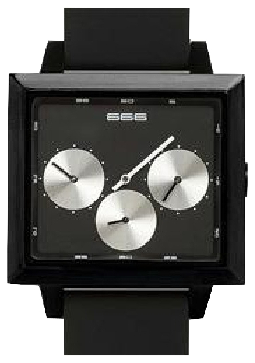 Wrist unisex watch 666 Barcelona 666-180 - picture, photo, image