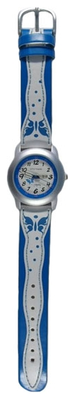 Wrist watch Sputnik D-1619/1 bel.+gol. for children - picture, photo, image