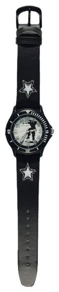Wrist watch Sputnik D-2067/3 cher.+bel.,cher.rem. for children - picture, photo, image