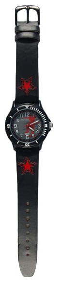 Wrist watch Sputnik D-2067/3 ser.+krasn.,cher. for children - picture, photo, image