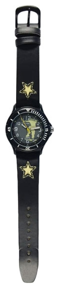 Wrist watch Sputnik D-2067/3 ser.+zel.,cher. for children - picture, photo, image
