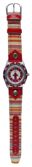 Wrist watch Sputnik D-2698/1 bel.+krasn. for children - picture, photo, image