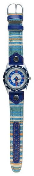 Wrist watch Sputnik D-2698/1 bel.+sin. for children - picture, photo, image