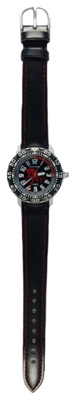 Wrist watch Sputnik D-3020/1 cher.,cher. for children - picture, photo, image