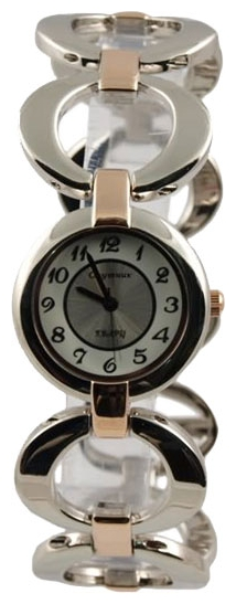 Wrist watch Sputnik L-882080/6 bel.+stal for women - picture, photo, image