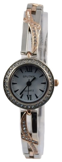 Wrist watch Sputnik L-995491/6 bel.,kam for women - picture, photo, image