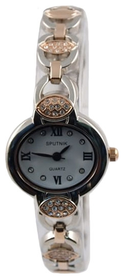 Wrist watch Sputnik L-995511/6 bel.,kam for women - picture, photo, image