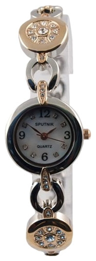 Wrist watch Sputnik L-995521/6.1 perl. kam for women - picture, photo, image