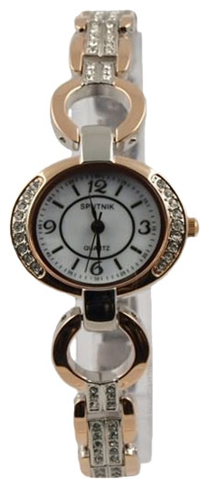 Wrist watch Sputnik L-995560/6 perl. kam for women - picture, photo, image