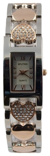 Wrist watch Sputnik L-995591/6 stal for women - picture, photo, image