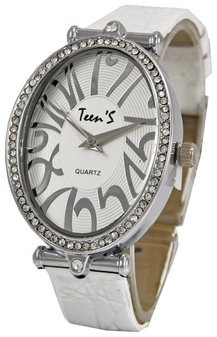 Wrist watch Tik-Tak N727 belyj rem/belyj cif for women - picture, photo, image