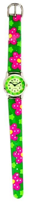 Wrist watch Tik-Tak H101-1 Zelenye cvety for children - picture, photo, image