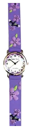 Wrist watch Tik-Tak H101-2 Fioletovye cvety for children - picture, photo, image