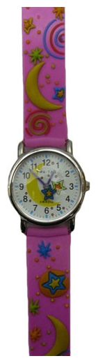 Wrist watch Tik-Tak H101-2 Fioletovye zvezdy for children - picture, photo, image