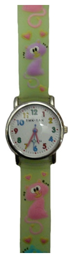 Wrist watch Tik-Tak H101-2 Zelenye koty for children - picture, photo, image