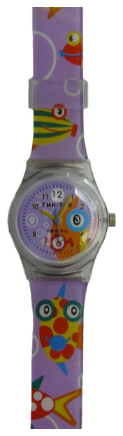 Wrist watch Tik-Tak H106-1 Fioletovye rybki for children - picture, photo, image