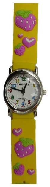 Wrist watch Tik-Tak H107-2 Klubnichki for children - picture, photo, image
