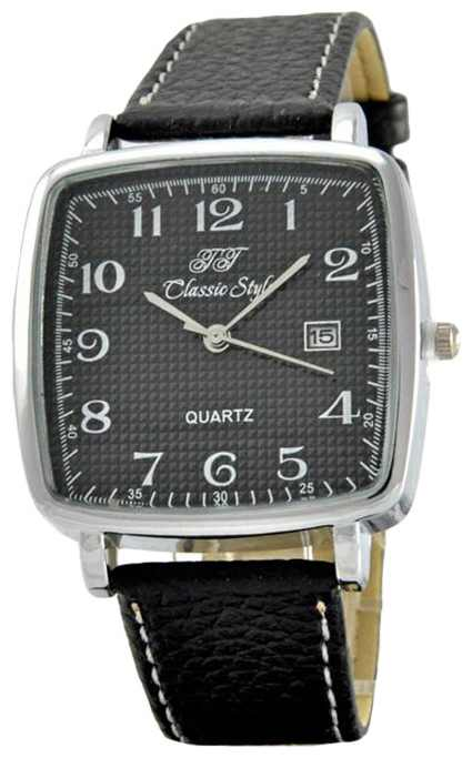Wrist watch Tik-Tak H809 Serebro/CHernye cifry for Men - picture, photo, image