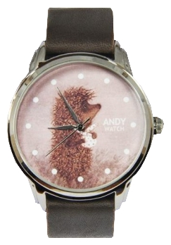 Wrist unisex watch Andy Watch Ezhik - picture, photo, image