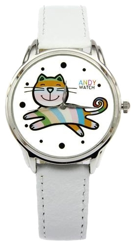 Wrist unisex watch Andy Watch Kotik - picture, photo, image