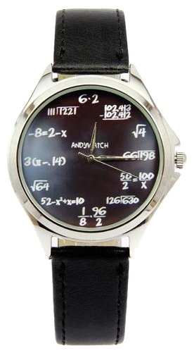 Wrist watch Andy Watch Matematika for Men - picture, photo, image