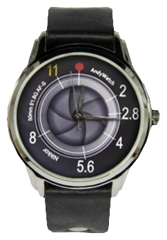 Wrist unisex watch Andy Watch Obektiv - picture, photo, image