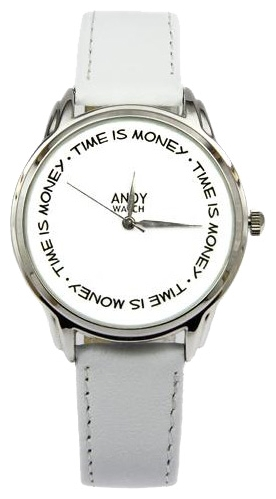 Wrist unisex watch Andy Watch Time is money - picture, photo, image