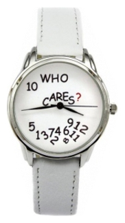 Wrist unisex watch Andy Watch Who cares? - picture, photo, image