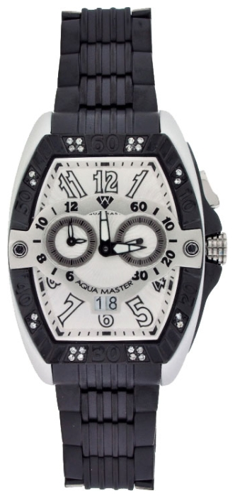 Wrist watch Aqua Master W315Black for Men - picture, photo, image