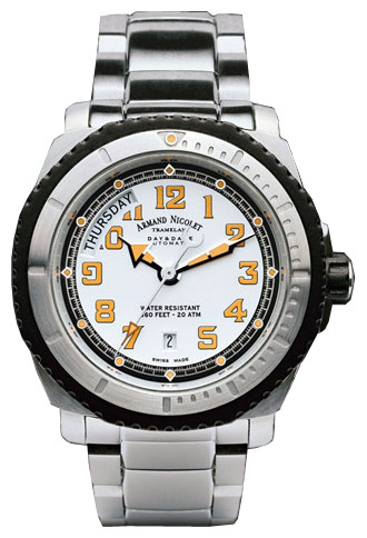 Wrist watch Armand Nicolet 9160G-AG-M9168 for Men - picture, photo, image