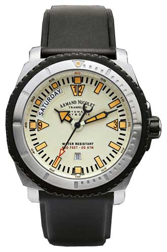 Wrist watch Armand Nicolet 9160M-BC-G9164 for Men - picture, photo, image