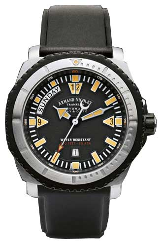 Wrist watch Armand Nicolet 9160M-NR-G9164 for Men - picture, photo, image