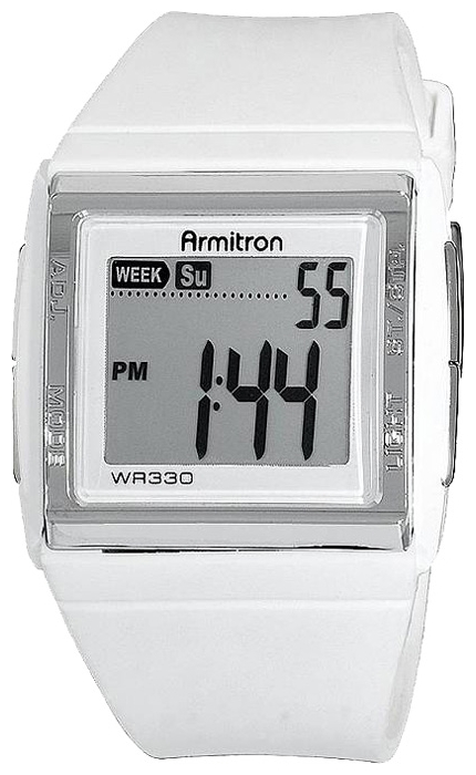 Wrist watch Armitron 45-7015WHT for women - picture, photo, image