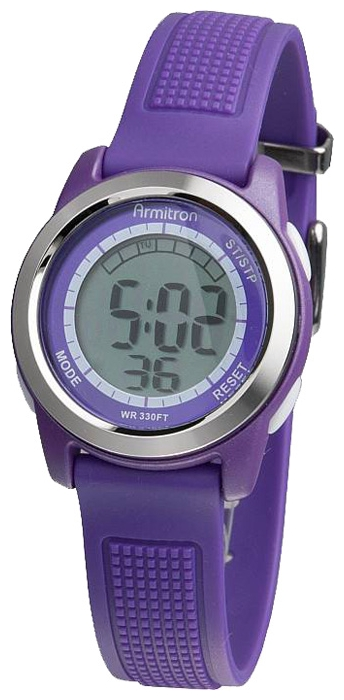 Wrist watch Armitron 45-7019PUR for women - picture, photo, image