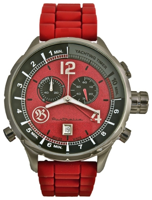 Wrist watch Bausele Yachting Red Earth for Men - picture, photo, image