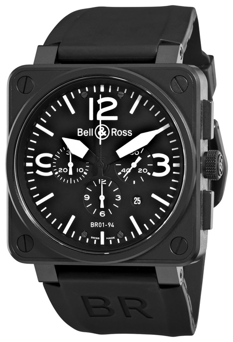 Wrist watch Bell & Ross BR0194-BL-CA for Men - picture, photo, image