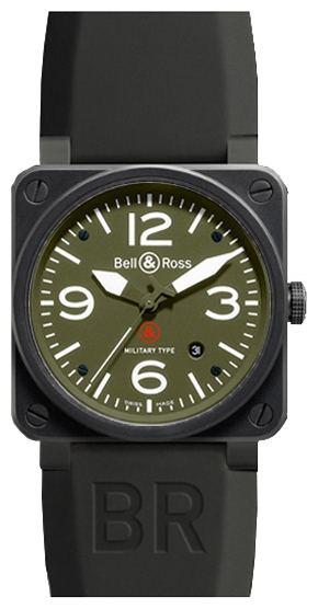 Wrist watch Bell & Ross BR0392-MILITARY for Men - picture, photo, image