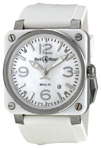 Wrist watch Bell & Ross BR0392-WH-C/SRB for Men - picture, photo, image