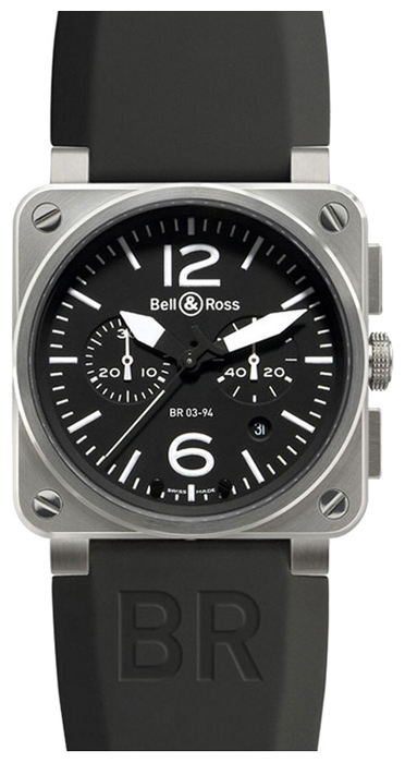 Wrist watch Bell & Ross BR0394-BL-ST for Men - picture, photo, image