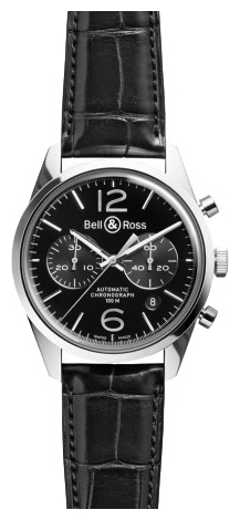 Wrist watch Bell & Ross BRG126-BL-ST/SCR for Men - picture, photo, image