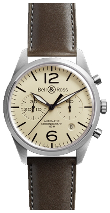 Wrist watch Bell & Ross BRV126-BEI-ST/SCA for Men - picture, photo, image