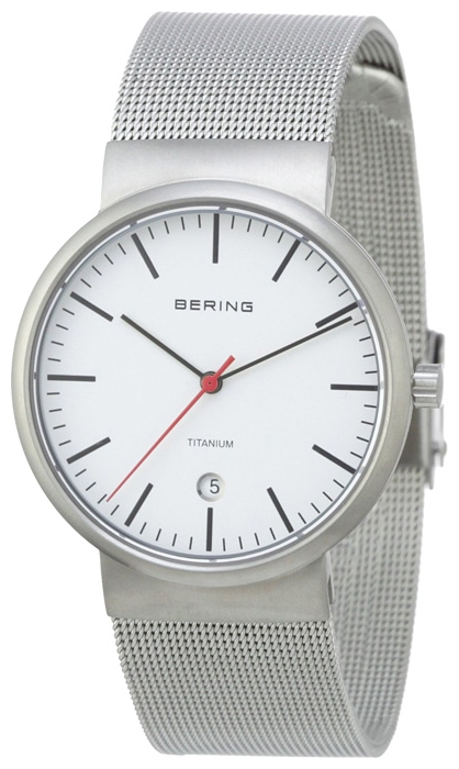 Wrist unisex watch Bering 11036-000 - picture, photo, image