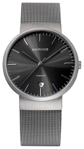 Wrist unisex watch Bering 11036-077 - picture, photo, image